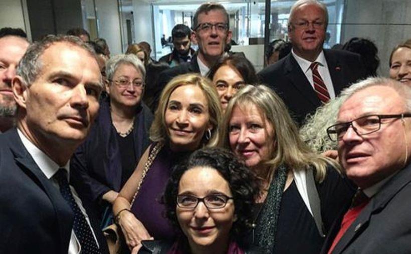 Dündar ve Gül'ün duruşmasına katılan elçiliklere nota verildi