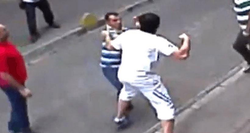 Aksaray esnafıyla kavga eden İrlandalı turistin davası görüldü