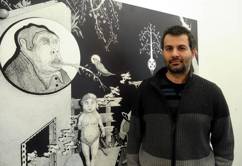 Kerem Ağralı'nın Nabız sergisi açıldı