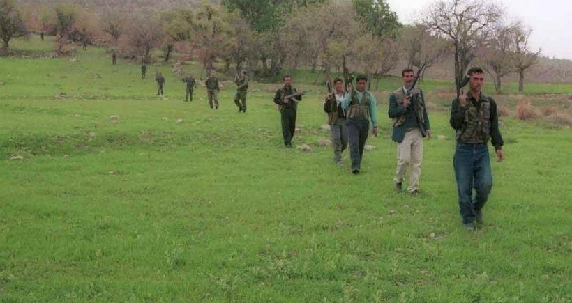 Dargeçit'te 12 korucu silah bıraktı