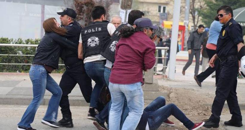 Ankara'da Maraş için yapılan yürüyüşe polis saldırdı: 10 gözaltı