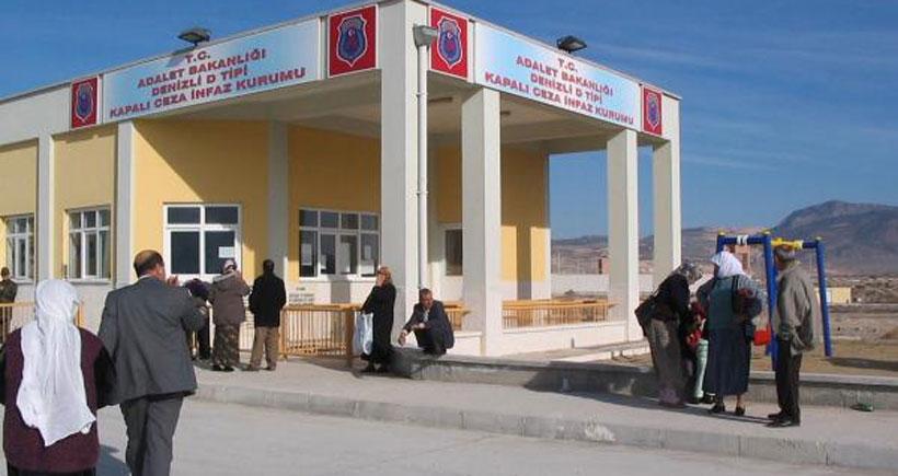 Denizli'de 160 kişilik Kocabaş Cezaevi'ne 520 kişi konulunca isyan çıktı