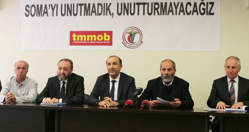 TMMOB ve TTB Soma raporu: 900 madenci daha  ölüm riski altında