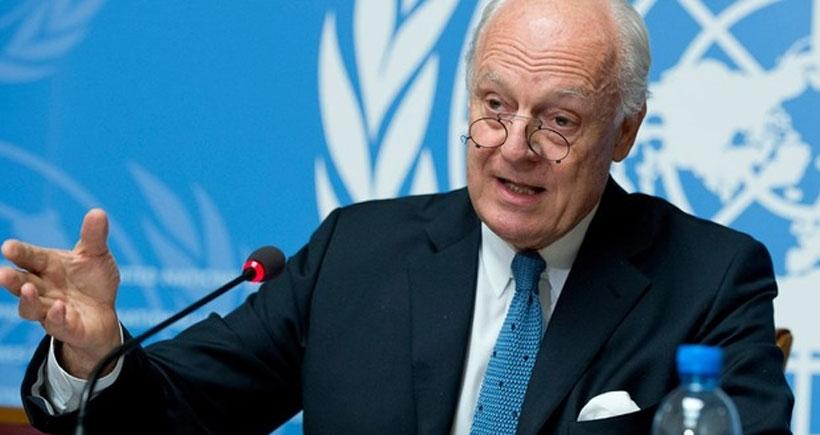 Staffan Mistura: Cenevre'de Suriye görüşmeleri başladı