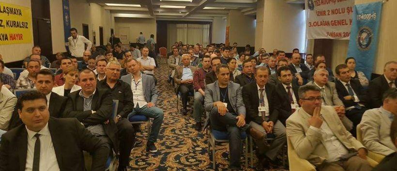 Tez Koop-İş İzmir 2 No'lu Şube Genel Kurulu yapıldı
