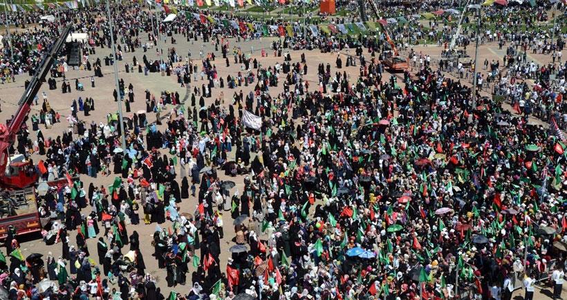 Diyarbakır'da 'Kutlu Doğum' mitingi yapıldı
