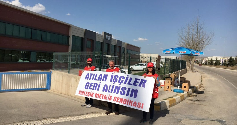 Eskişehir'de işçiler 1 Mayıs'ı direnişle karşılıyor