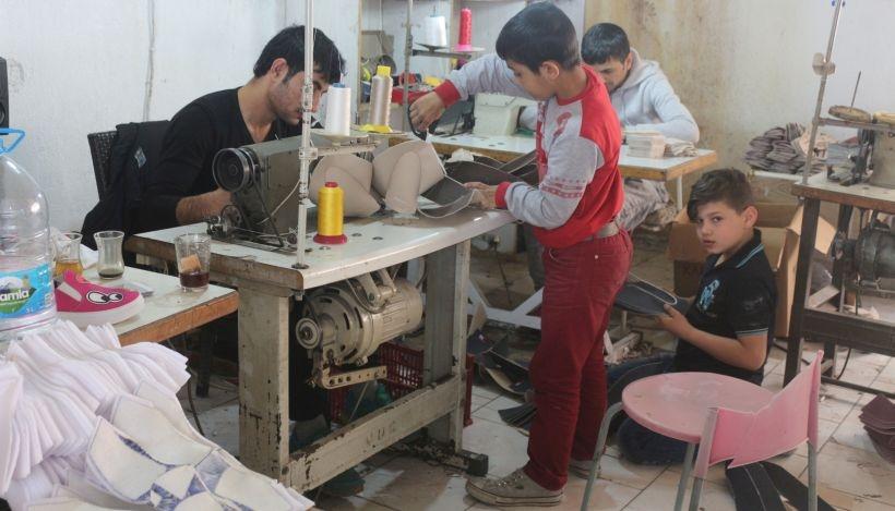 Suriyeli çocuk işçiler eğitim alamıyor, ucuza çalıştırılıyor