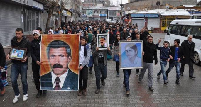 Bulanık'ta 15 Aralık protestosu