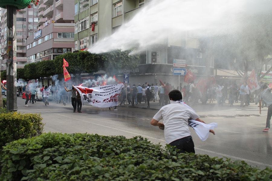 Adana'da komitenin 1 Mayıs'ı iptal etme sorumsuzluğu