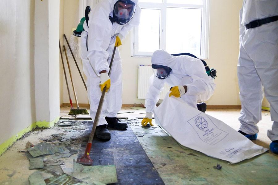 Asbest Türkiye'de yasak ama her yerde var!