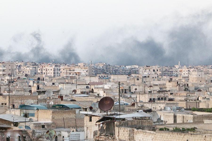 Cihatçılar, Halep'te saldırıya geçti