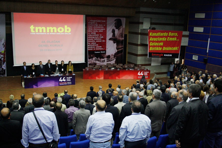 TMMOB 44. Olağan Genel Kurulu başladı