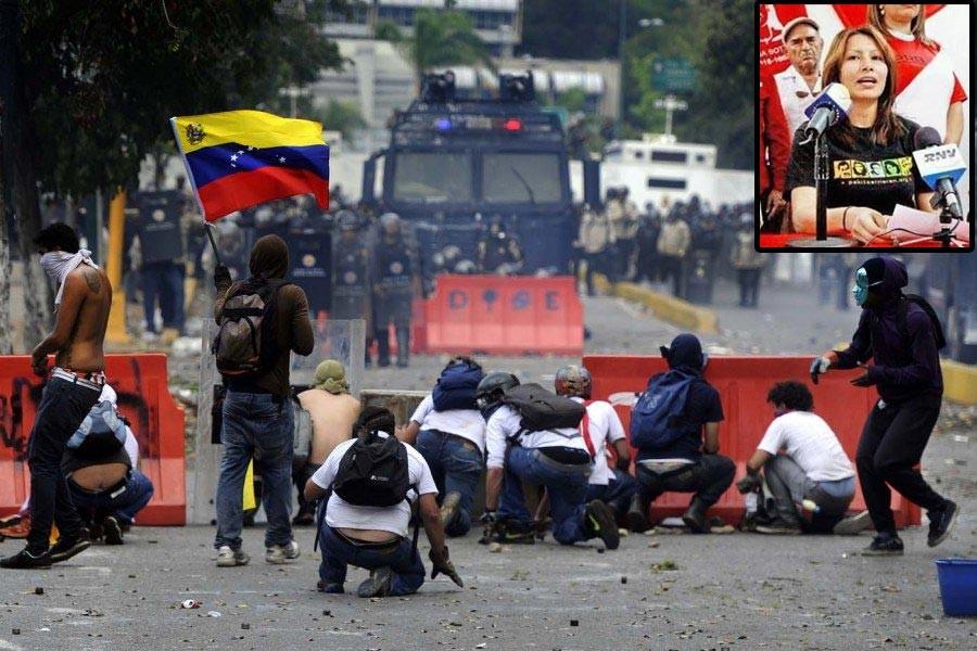 VENEZUELA'DA ZOR GÜNLER...