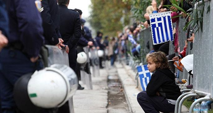 Yunanistan'da ulusal bayramlar halka yasak