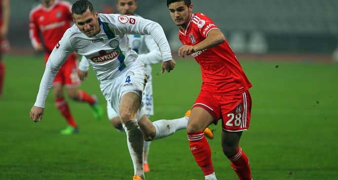 Çaykur Rize, Beşiktaş'ı Olimpiyat'ta tek golle geçti