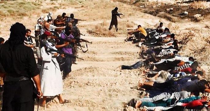 IŞİD, 30 kişiyi kurşuna dizdi