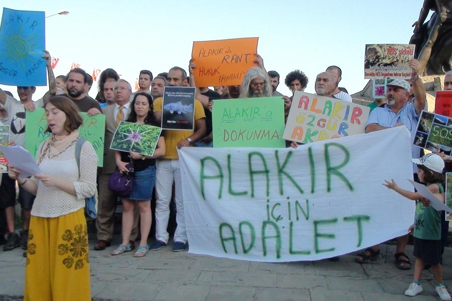 Antalya Alakır Vadisinde HES hukuksuzluğu sürüyor
