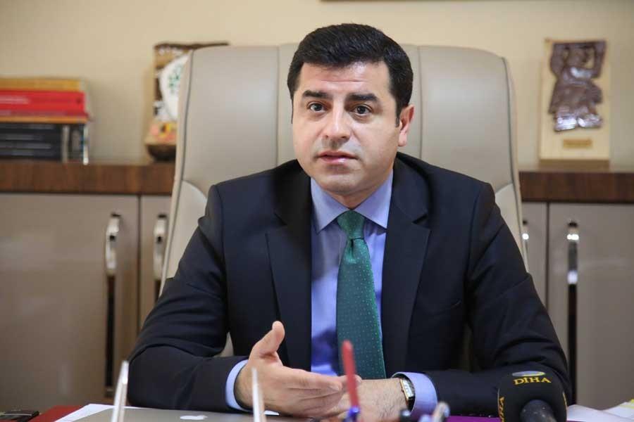 Demirtaş: HDP yokmuş gibi davranarak sorunlar çözülmez