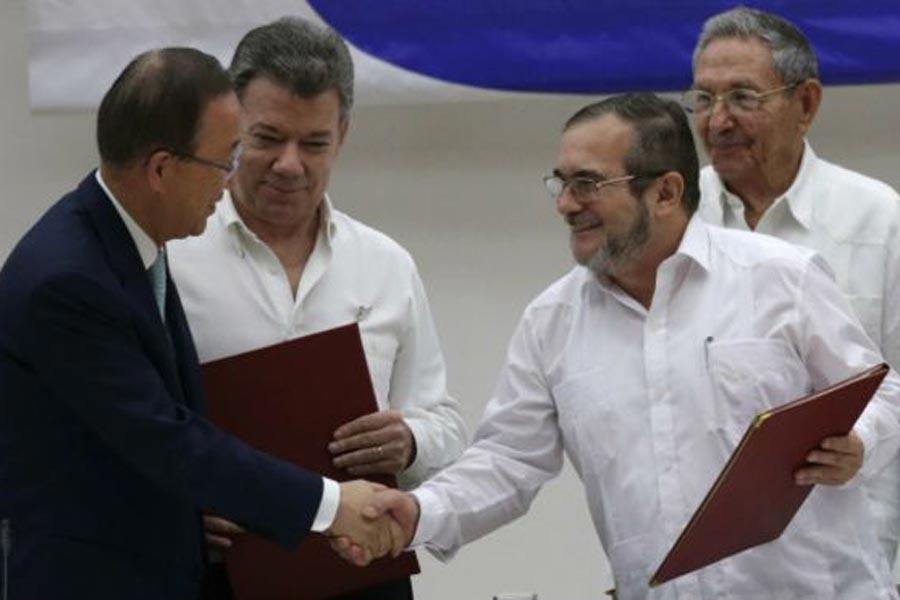 Kolombiya'da ateşkes 31 Ekim'e kadar geçerli olacak