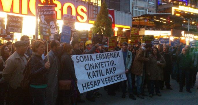 'İşçilerin mezarını bizzat AKP kazdı'