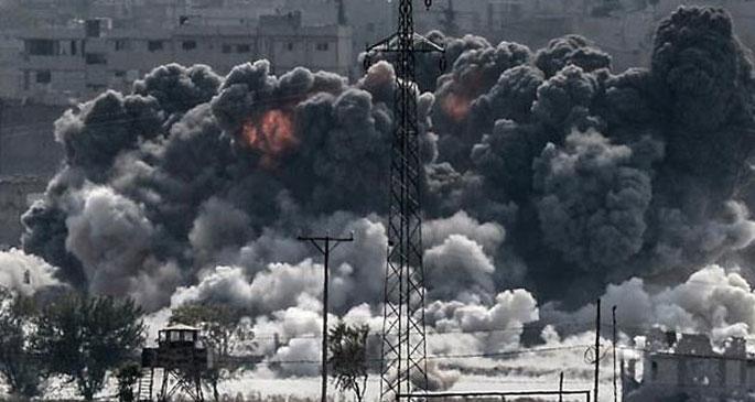 IŞİD, tüm gücüyle sınır kapısına saldırıyor