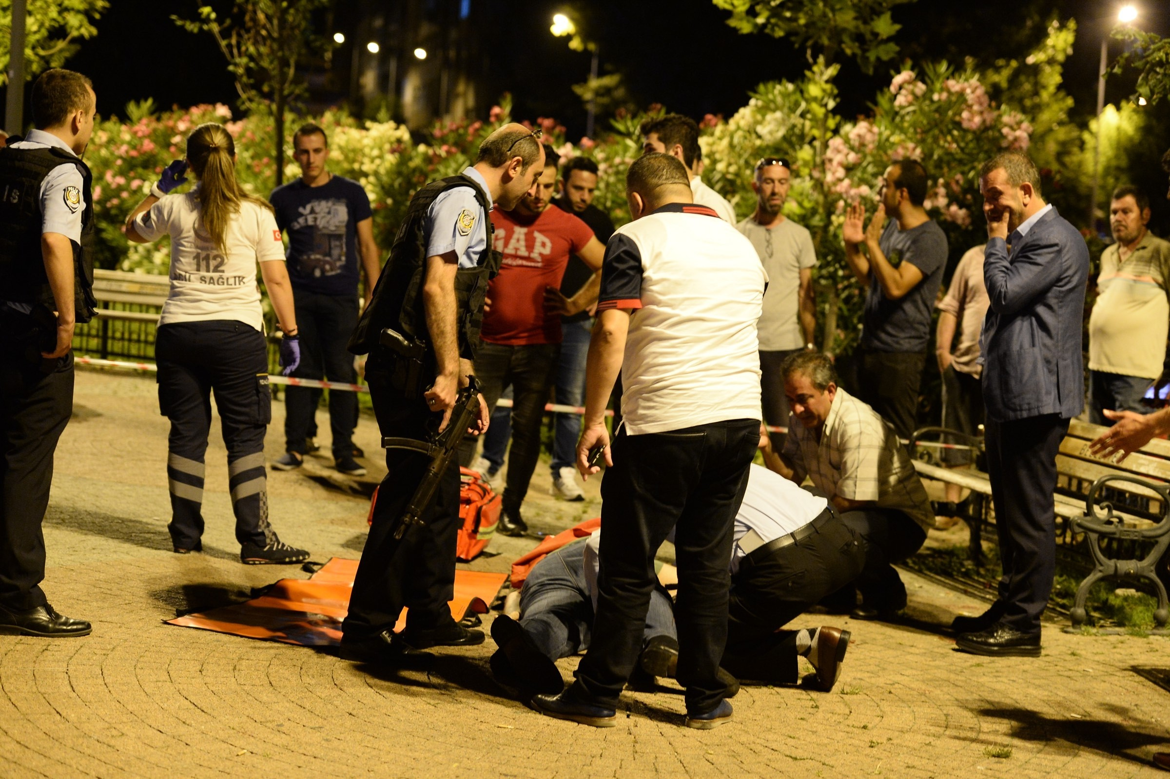 İstanbul'da bir kişi vurularak hayatını kaybetti