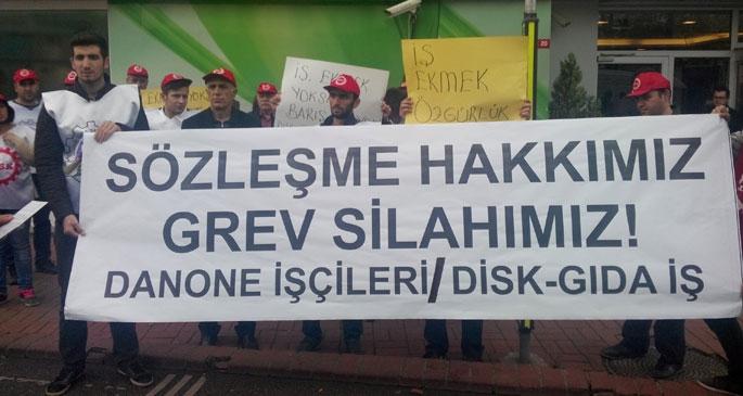 Danone işçilerine uluslararası destek