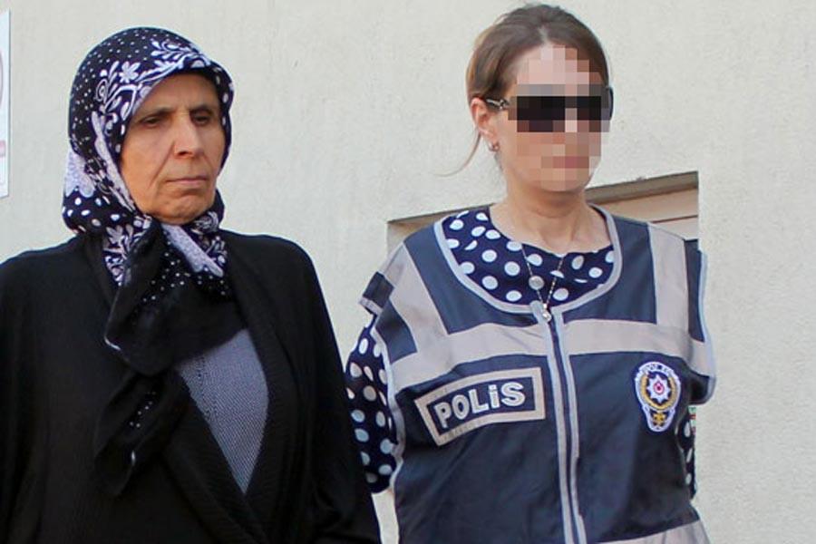 'FETÖ'den, 7 yıl ceza alan Aliye Boydak tahliye edildi