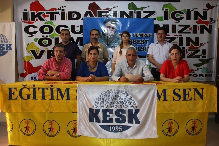 'Açığa alınan her  üyemizin hakkını koruyacağız'