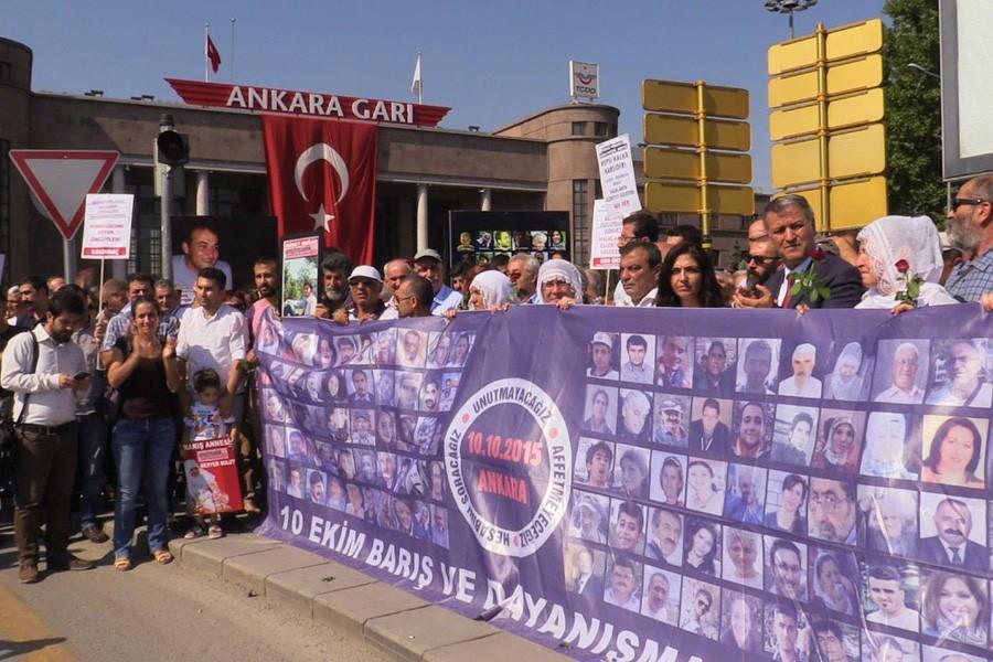 10 Ekim'de kaybedilenler Ankara'da anılacak