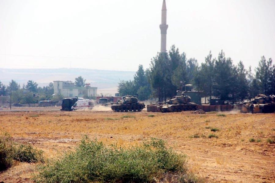 Karkamış'a 5 havan mermisi atıldı kent boşaltılıyor