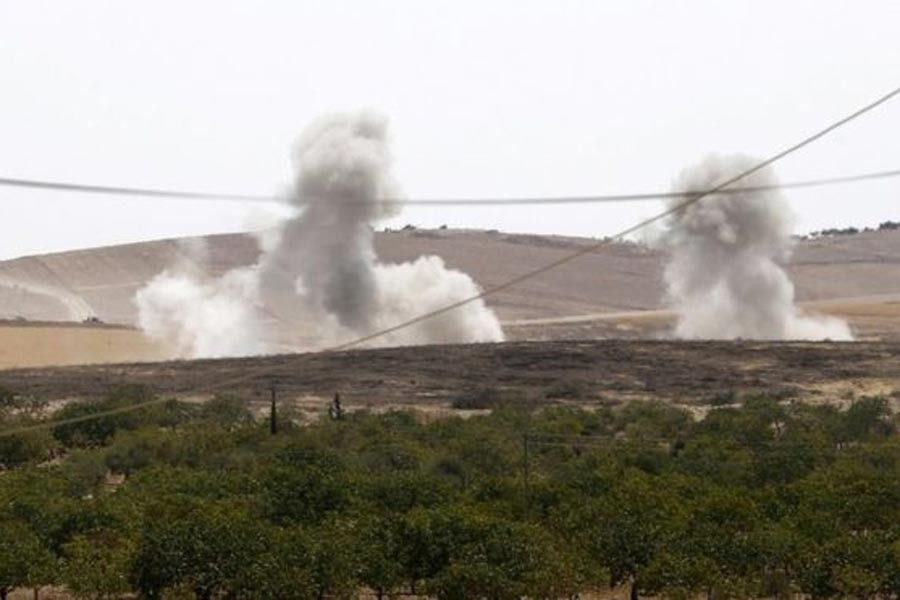 Cihatçılar, Kobani'ye saldırdı