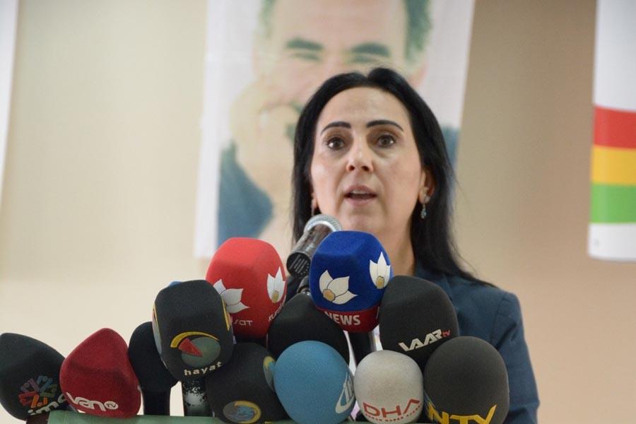 Figen Yüksekdağ tutuklama istemiyle mahkemeye sevk edildi
