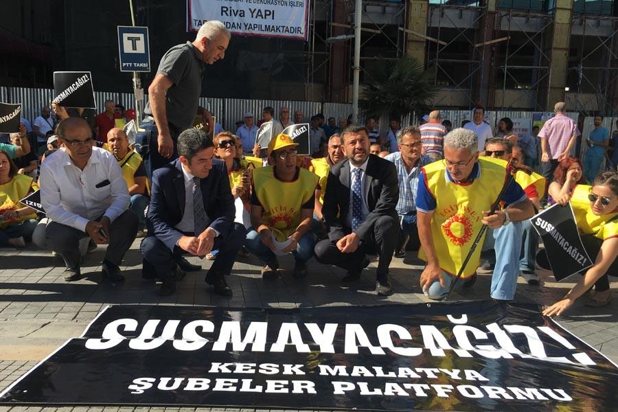Eğitim Sen Malatya Şubesi: Baskılara karşı susmayacağız!