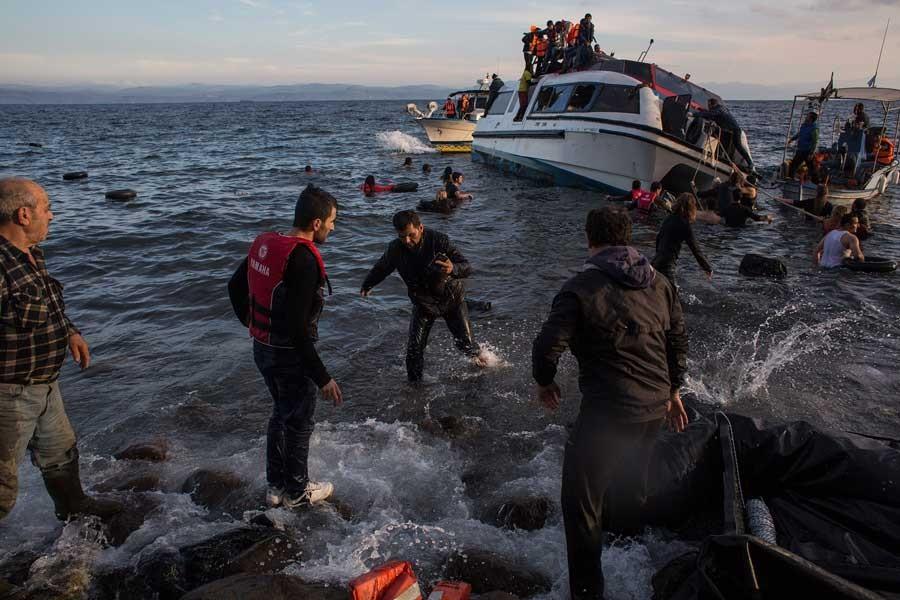 2016 yılında Akdeniz'de 3 bin 740 göçmen hayatını kaybeti
