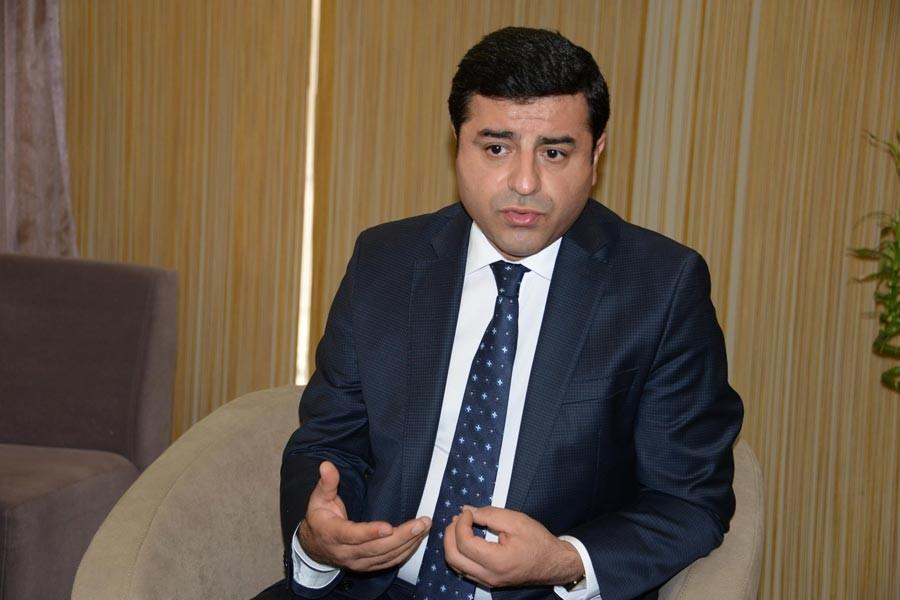 Demirtaş: Kapatılan sadece İMC TV değil, parlamentodur