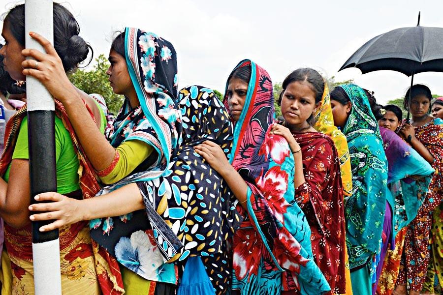 Tekstil sanayiinde  kölece çalışma koşulları