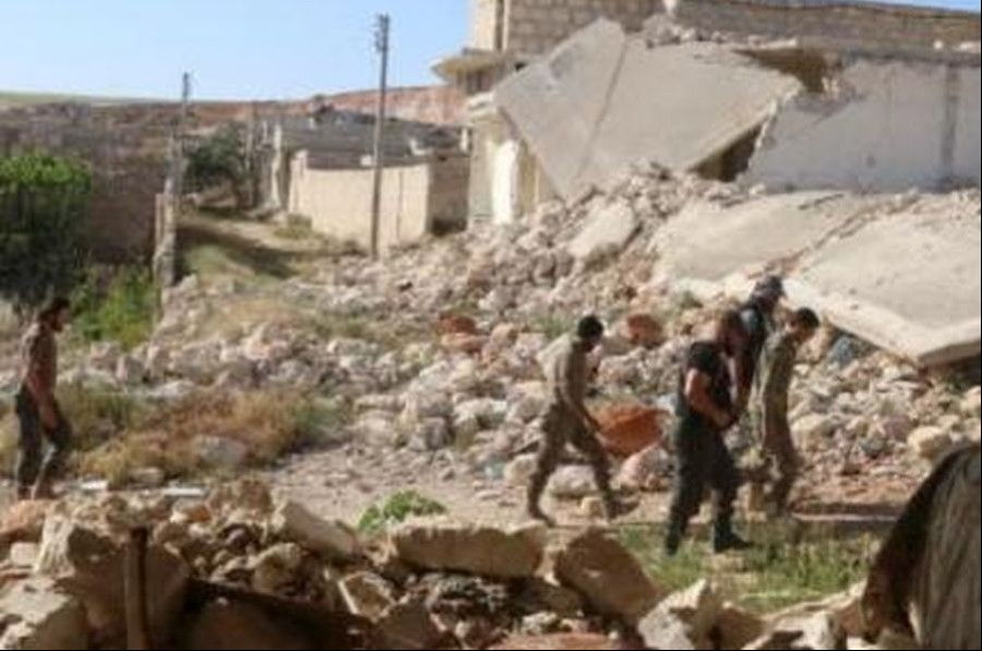Suriye ordusu, Handarat Kampı'nda kontrolü sağladı