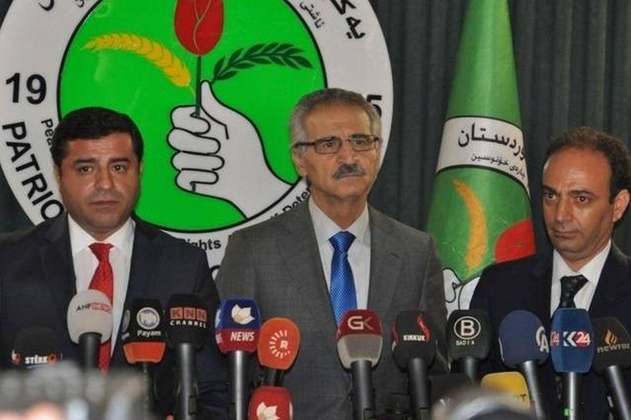 Demirtaş, Federal Kürdistan'daki  temaslarını sürdürüyor