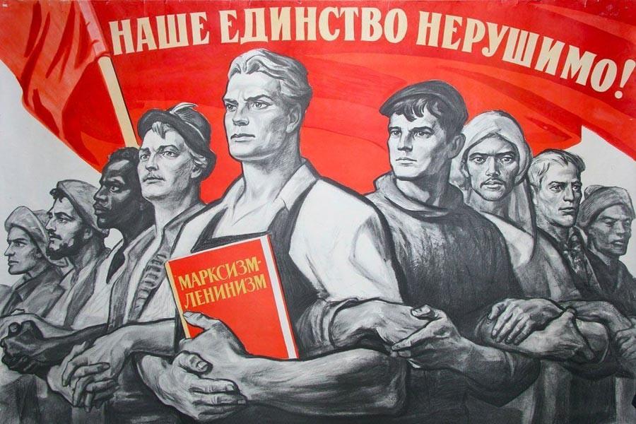 'Sovyet görselleri': Afişlerle Sovyet tarihi