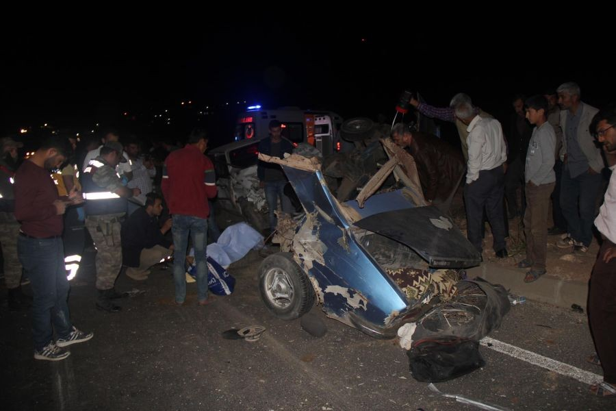 Urfa'da trafik kazası: 12 yaralı