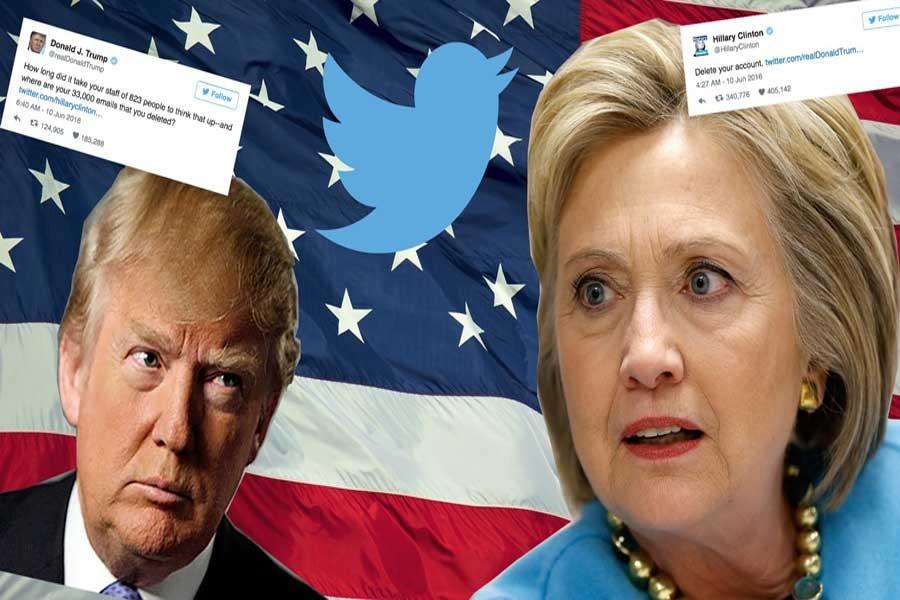 Twitter, Clinton'la Trump'ın tartışmasını canlı yayınlayacak