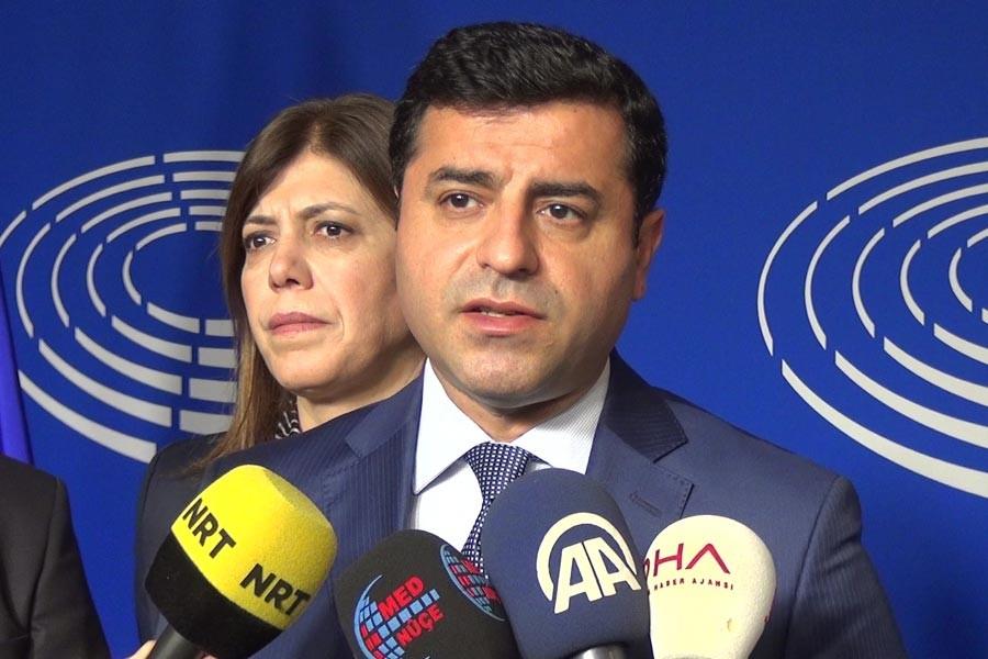 Demirtaş: HDP'ye kapatma davası tartışılıyor