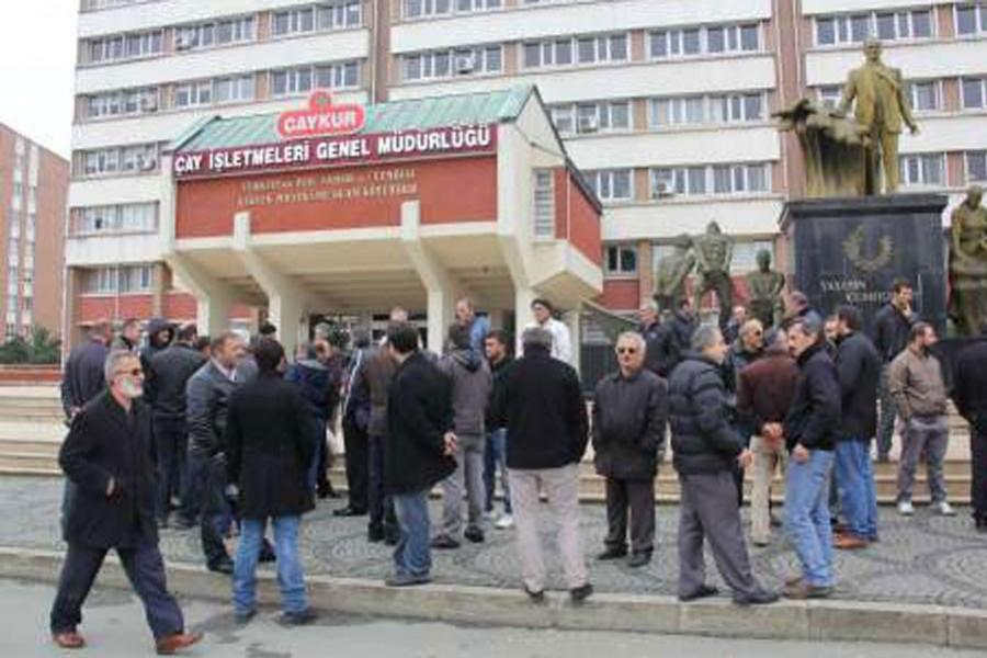 ÇAYKUR işçileri fondan yararlanmak istiyor
