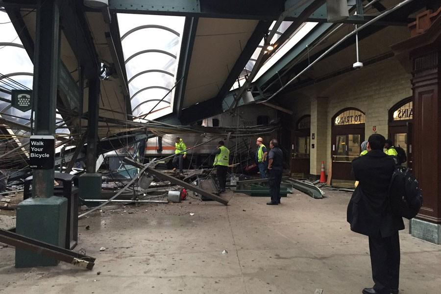 New Jersey'de tren kazası: 100'den fazla yaralı