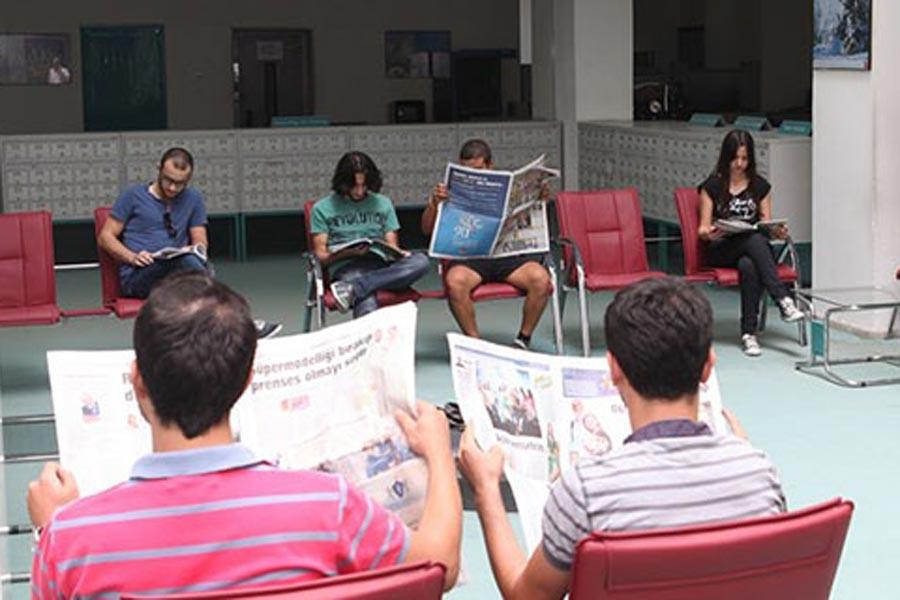 Çukurova Üniversitesikütüphanesine dergiler alınmıyor
