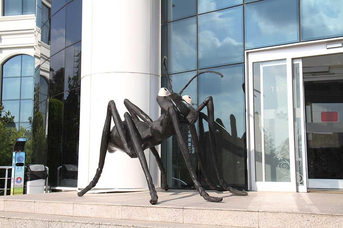 'Dev Karıncalar' Maltepe'de