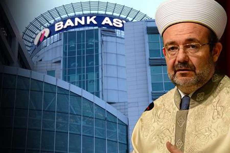 Diyanetin Bank Asya hesabı ortaya çıktı