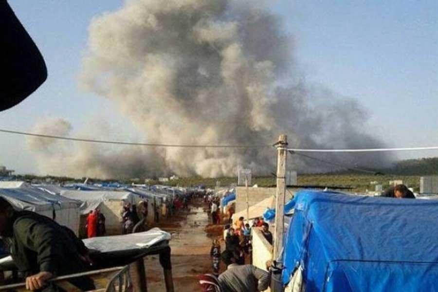 Atme çadır kentinde ÖSO noktasına saldırı: 35 ölü